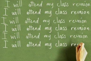 I will attend my class reunion.